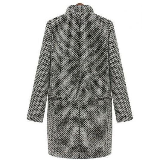 2018-Design-New-Spring-Winter-Trench-Coat-Women-Grey-Medium-Long-Oversize-Warm-Wool-Jacket-European (1)