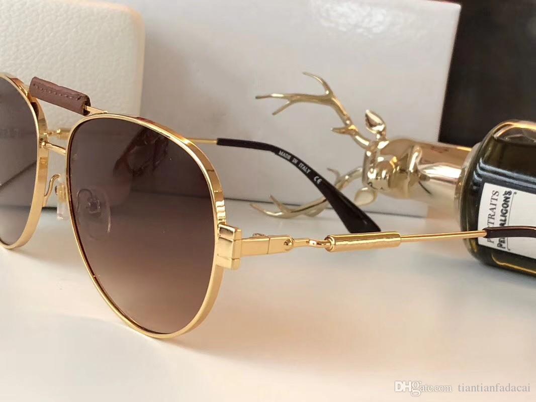 Neue Art und Weise Frauen Sonnenbrille oculos 2167 Männer Sonnenbrille einfach und großzügig Herren-Sonnenbrillen im Freien uv400 Schutzbrille mit Etui