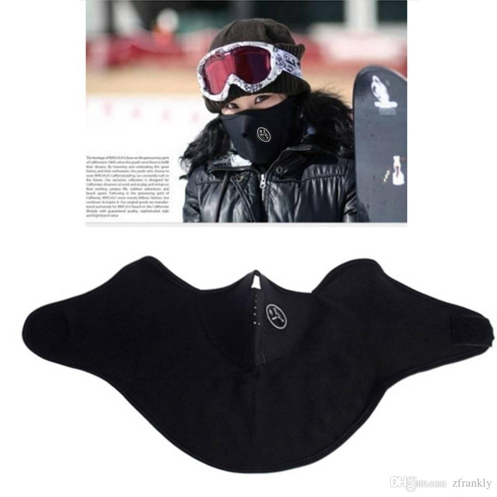 5pcs/lot New Black Face Wind Mask Veil for Ski Snowboard Bike Motorcycle Hiking Cycling Neck Warm