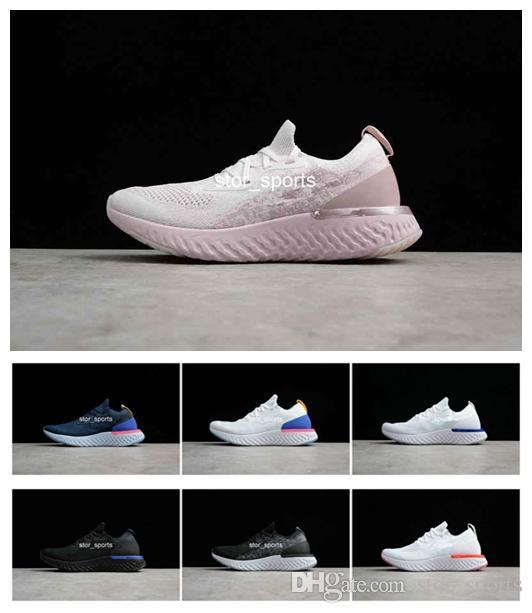 chaussures nike epic react Mulheres Running Shoes Épicos Reagir Formadores Homens Esportes Moda Corrida Corredor Dos Homens Das Mulheres Instrutor de Personalidade Sapatos De Basquete Conforto