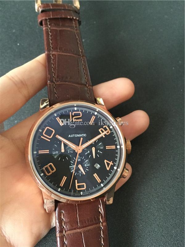 뜨거운 판매 남자 시계 스테인레스 스틸 고급 시계 캐주얼 시계 기계 자동 새로운 시계 투명 유리 09