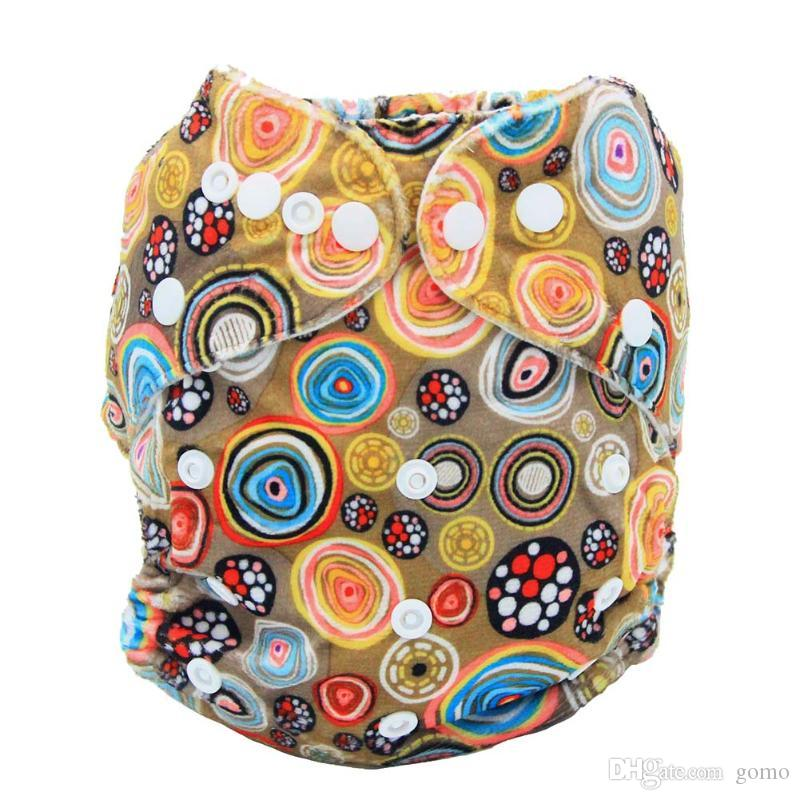 Newborn Baby Nappy Breathable Soft Washable Waterproof Cloth Diapers Cover Reusable Diapers Baby Care Accessories
