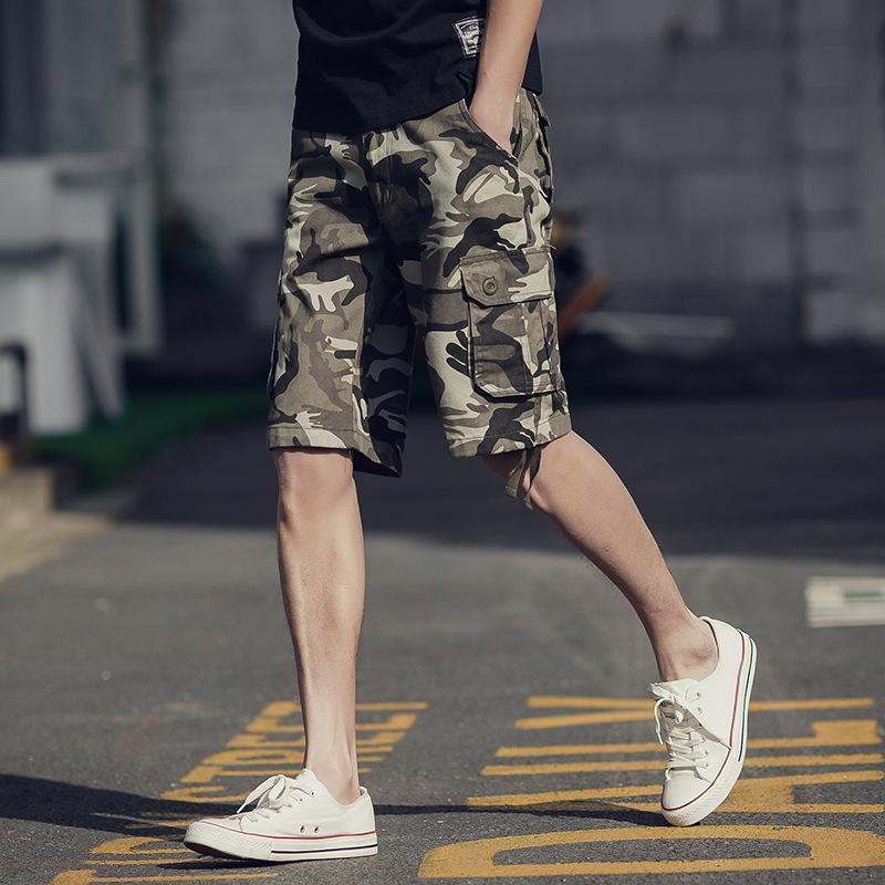 Shorts tactiques hommes armée spéciale soldat shorts de plage camo cargo pantalons courts hommes plus la taille pantalon