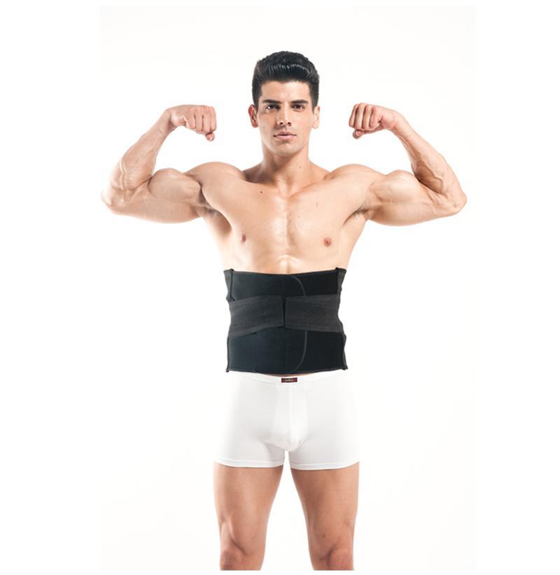 Wholesale Men Abdomen Tummy Belly Stomach Cincher Girdle Body Waist Shaper Slimming Belt Mens Lingerie Burning Shaper Top Body Slimming