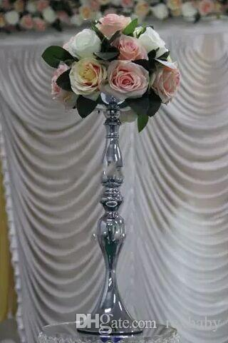 No Flower Including Vintage Flower Vase / Table Centerpiece 60cm-61cm Tall Candle Holder For Wedding Party Holiday Festivel