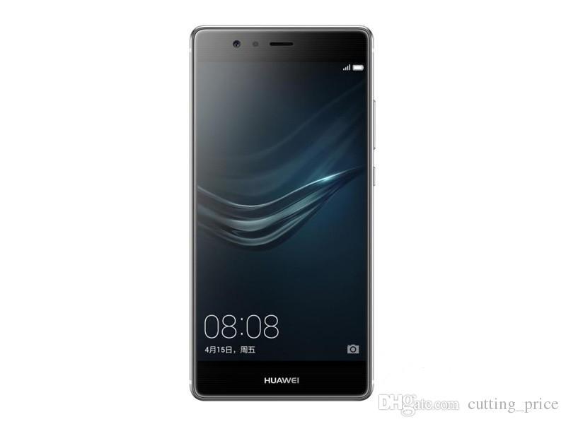 Original Huawei P9 4G LTE Cell Phone Kirin 955 Octa Core 4GB RAM 64GB ROM Android 5.2 inch 2.5D Glass 12MP Fingerprint ID Smart Mobile Phone