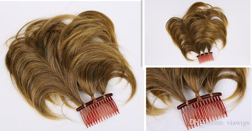 머리카락 머리카락 빗 가네 카론 섬유 금발의 분 Acc 착용 편리한 우량 품질 면제 7cm