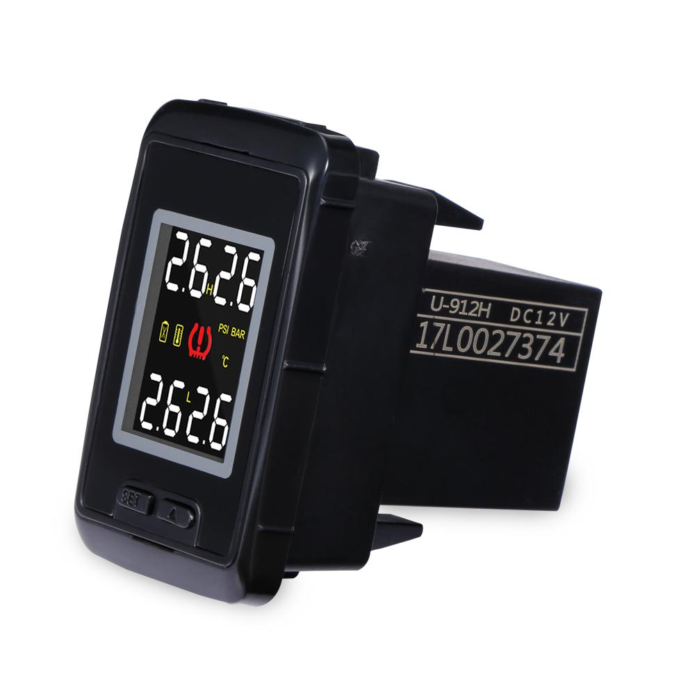 Tire Pressure Monitoring System >> 2019 Pershn U912 Wireless Tpms Sensor Car Tire Pressure Monitor System With 4 External Sensors Temperature Digital Display For Toyota From