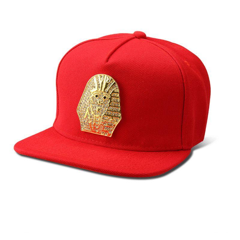 New Egyptian Pharaoh Snapback Hats Last King LK Baseball Caps Gorras Sports Hip hop hat