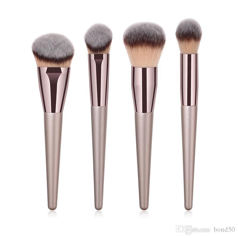 4 шт./компл. макияж кисти установить профессиональные косметические кисти пудра макияж кисти установить лучшее качество T04024