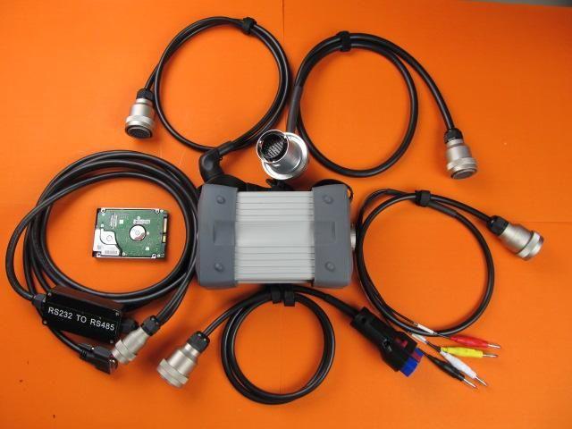 MB Estrela C3 Ferramenta de diagnóstico com 120GB HDD para Dell D630 CF-19 Laptops Cabos Kit completo de 2 anos de garantia