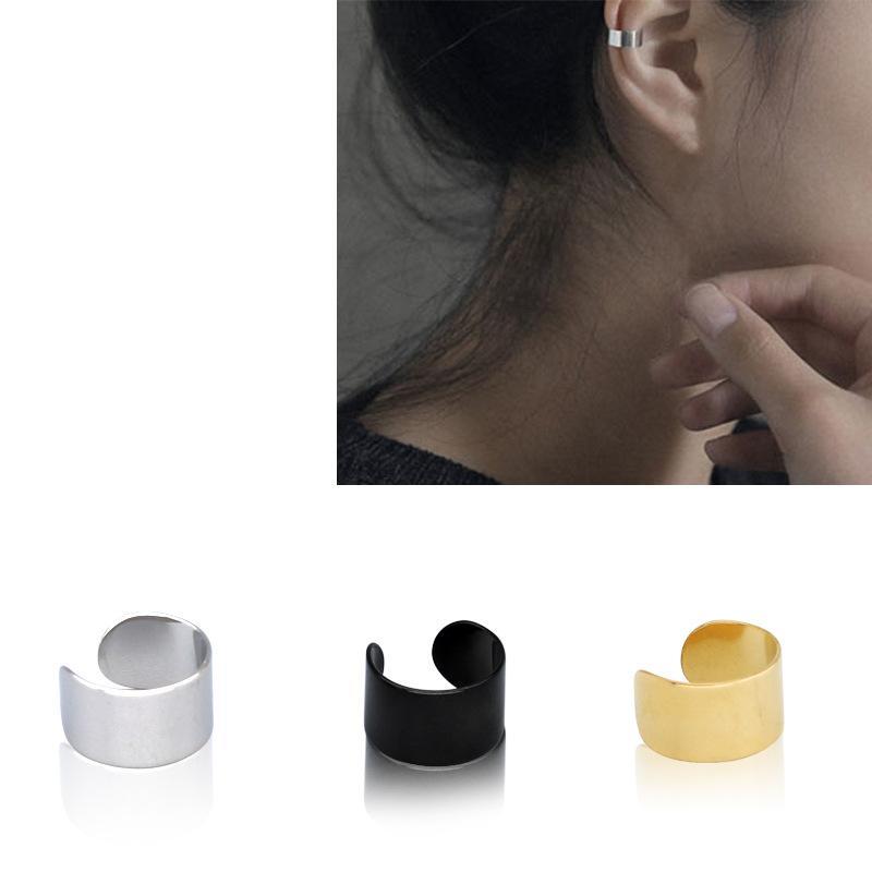 4 x Frauen Ohr Klipp Edelstahl Kein Piercing Ohrringe Mode Schmuck