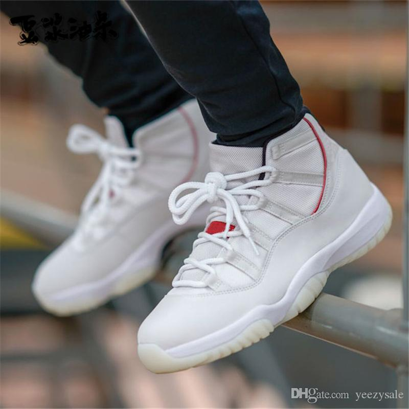 Platinum Tint Concord High 45 11 11S Cap and Gown PRM Heiress Gym Red Cool Grey Space Jams Men Basketball Shoes Sports Sneakers