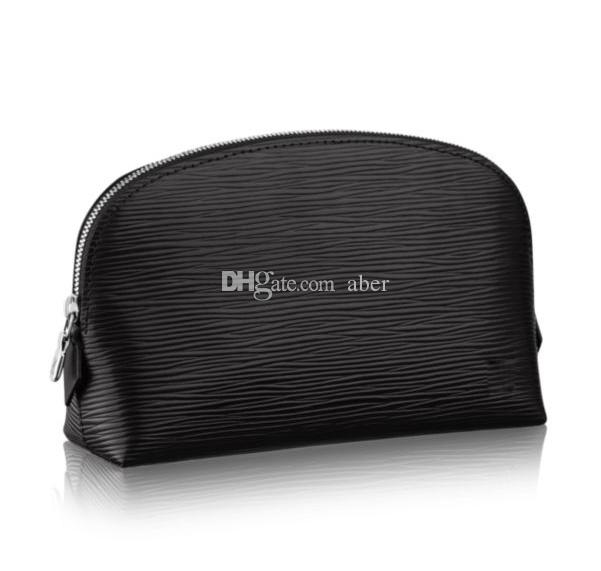 New Travel COSMETIC POUCH Protection Makeup Clutch Women Genuine Leather Waterproof COSMETIC POUCH GM 47353 for purse Damier Ebene 47515
