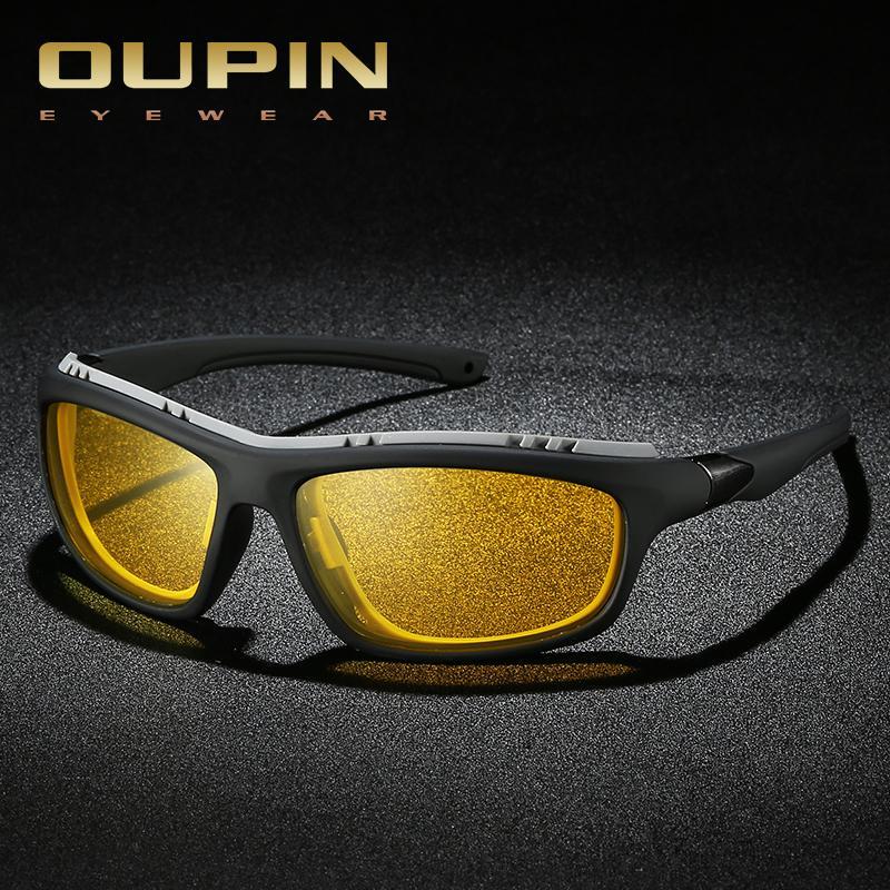 도매 고품질의 초경량 알루미늄 마그네슘 스포츠 선글라스 편광 된 남자 UV400 직사각형 골드 야외 드라이브 태양 안경