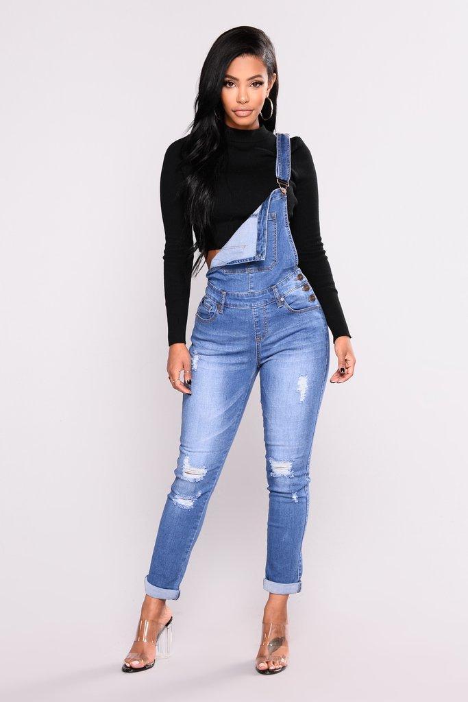 Camici delle donne all'ingrosso di moda Jeans stile Preppy Distressed 2018 Autunno Nuovo arrivo tinta unita Jeans skinny taglia S-3XL