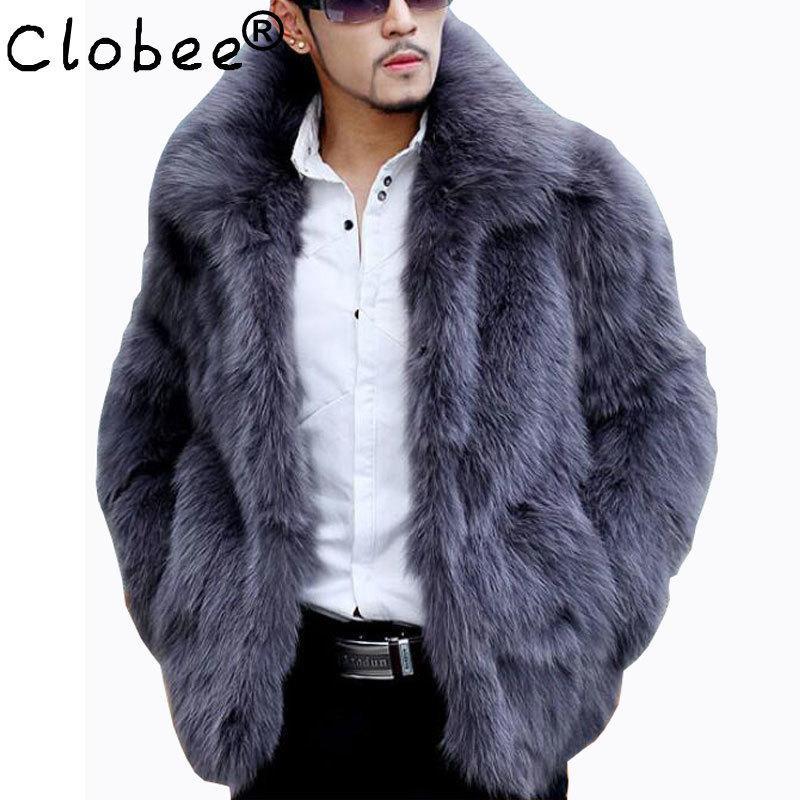 Mens Faux Fur Coat Clothing, Fur Coats Mens Faux
