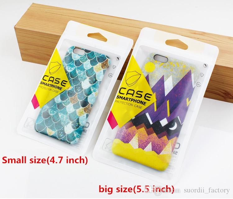 Custom Design Plastic Accessories Retail Packaging Bags Hand Hole Cases Packaged Zipper Lock OPP Bag Package for Cell Phone