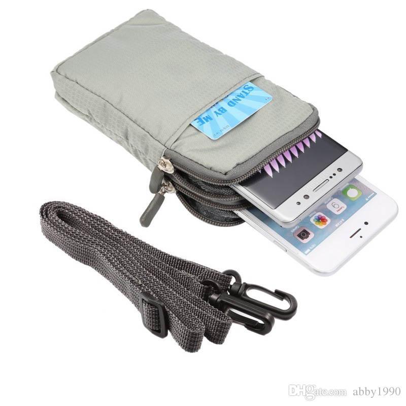 for Blackberry Priv Universal Multi-Function Belt Clip Sport Bag Pouch Case for Blackberry Priv