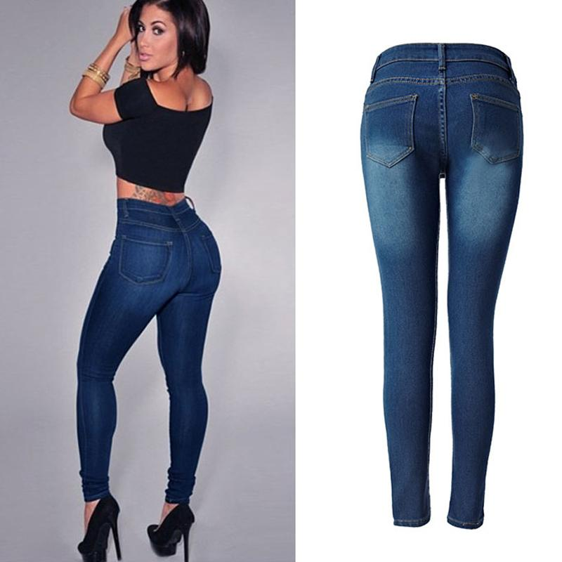 Online-Verkauf Herbst Schuhe neue Liste 2019 Sexy Women Push Up Jeans High Waist Stretchy Skinny Jeans Ladies Slim  Denim Jeggings Jeans Shaping Thin Women Biker Denim Pencil From ...