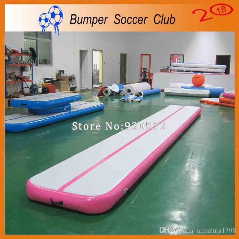 مصنع الجملة نفخ الهواء المسار ل رياضة ، 6x1x0.1 متر داخلي نفخ الهواء رياضة حصيرة ، عالية الجودة نفخ تعثر المسار للأطفال
