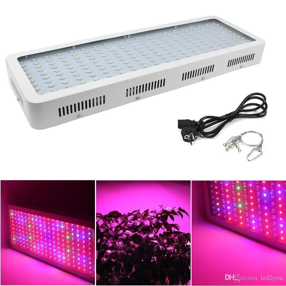 Les doubles morceaux 1000W 1200W 1600W 2000W LED élèvent le spectre complet léger pour la culture hydroponique de Veg / Bloom plantant l'UE au Royaume-Uni