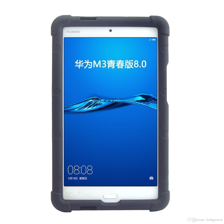 Acquista MingShore Cover Tablet Huawei Mediapad M3 Lite 8 Adatta A Chopin W09A Custodia Robusta In Silicone Da 8 Pollici Tablet CPN L09 A 12,56 € Dal ...