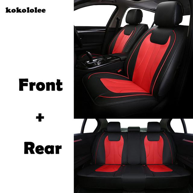 THICK VINYL ALL OVER SEAT SUZUKI GRAND VITARA LEATHER CAR FRONT SEAT COVERS