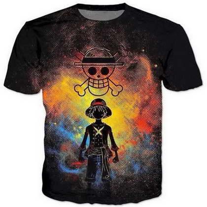 Аниме One Piece 3D смешные футболки новая мода Мужчины / Женщины 3D печати характер футболки футболка женская сексуальная футболка Tee топы одежда ya58