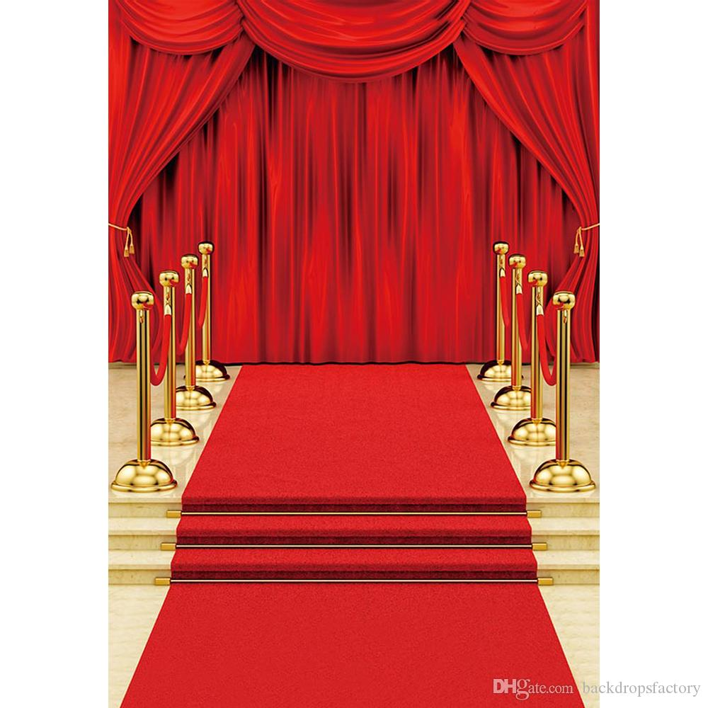 2020 Digital Printed Red Carpet Curtain Wedding Photography Backdrop Celebrity Party Themed Stage Photo Booth Background Fond Photographie From Backdropsfactory 25 47 Dhgate Com