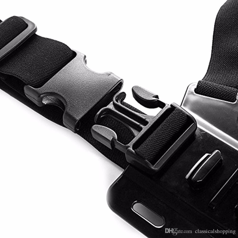 Ayarlanabilir Spor Kamera Harness Göğüs Kayışı İçin git yanlısı kahraman GoPro Aksesuar Dağı Belt İçin 5 4 3 Serisi SJCAM SJ4000 SJ5000 Fix