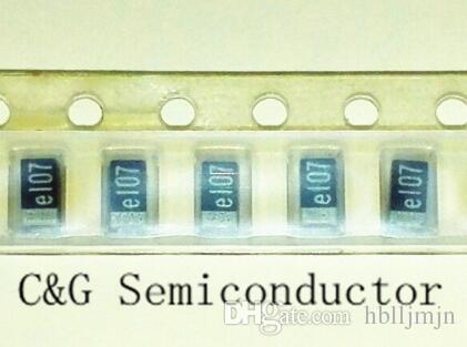 100 sztuk A 107K 100UF 2.5v SMD 2.5 V 100UF 1206 3216 10% A 2,5 V 100UF Czarny Tantal kondensator
