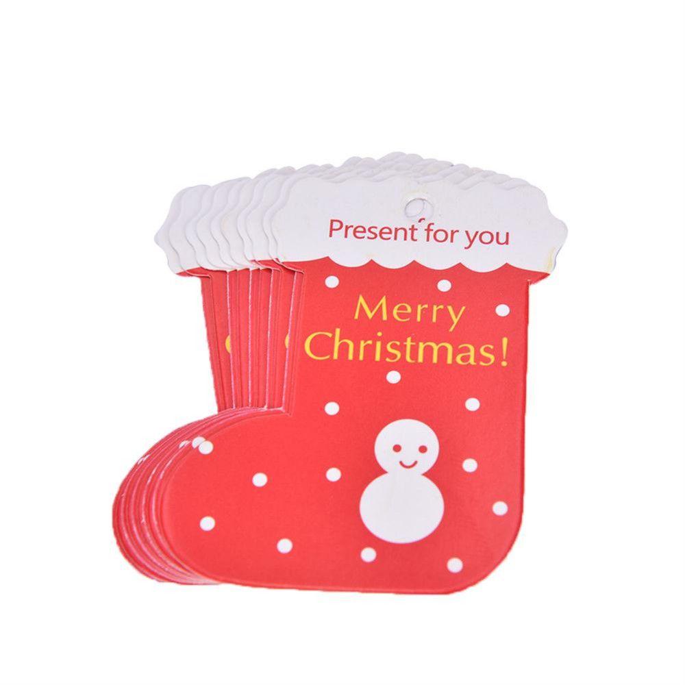 NUOBESTY 120 Piezas Mini Tarjeta de felicitaci/ón Tarjeta de Mensaje Tarjeta cumplea/ños Tarjeta Adorable para Festival de Navidad