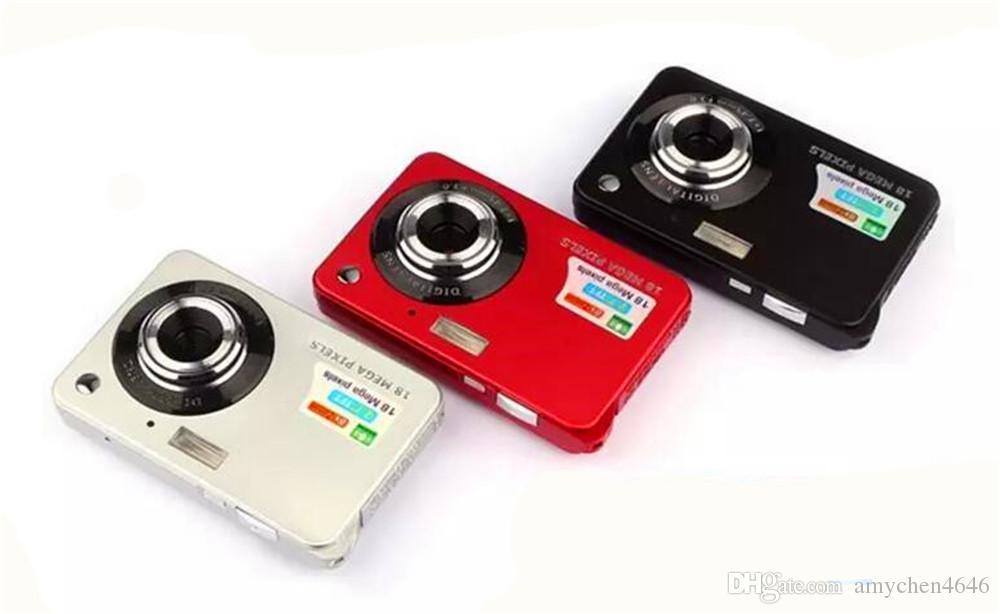 """Gute Qualität! HD-Mini-Digitalkamera 18MP 2.7 """"TFT 8x-Zoom-Lächeln erfassen Anti-Shake-Video-Camcorder 1280 * 720"""
