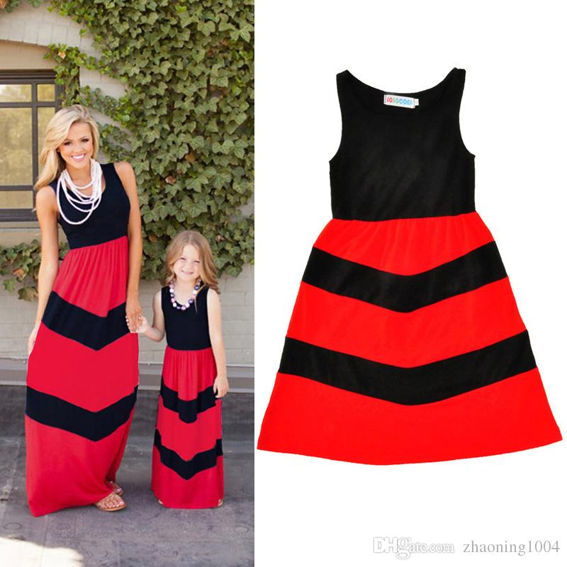 Fashion Designer Mother And Daughter Clothes Party Dress Mommy And Me  Dresses Girls Clothing Set Mom Kids Gril Clothes Matching Sweaters For  Family