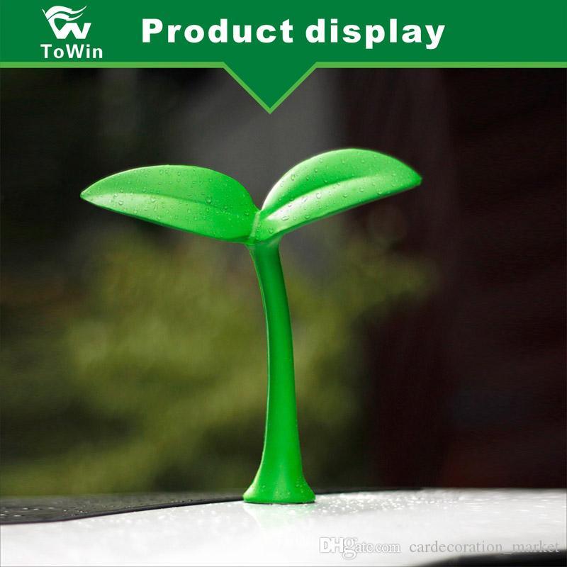 YENI moda Sevimli Küçük Şeytan Horn Şeytan 3D Araba Oto Sticker Styling Anti Çarpışma Yaratıcı / Araba aksesuarları / dekorasyon / tamir / eğilim