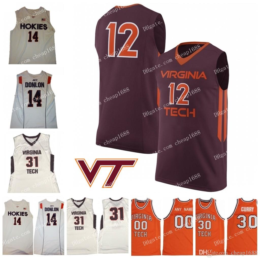 2021 NCAA Virginia Tech Hokies 10 Jonathan Kabongo 21 Landers ...