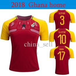huge selection of c9c15 3f5c2 2018 Ghana Soccer Jersey Ghana National Football Team Home Soccer Shirt  2018 Red Yellow Football Uniform Sales From China Soccer Jerseys Seller ...