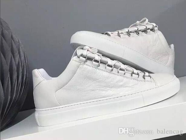 Usine de vente Junior Sneakers Arena Low Shoe Man chaussures de sport en cuir véritable arena low top chaussures de sport de taille 38-46