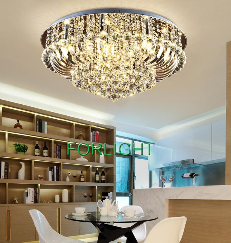 Dimmable Chandeliers Modern Design High Class K9 Crystal Chandelier Led  Ceiling Chandeliers Lighting Living Room Bedroom Hall Villa Forlight  Discount ...