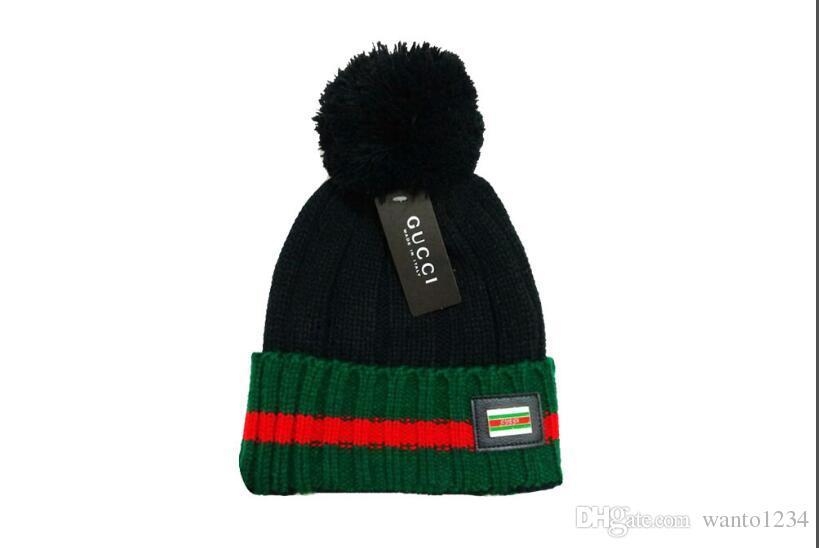 2019 Good Sale Brand men fashion knitted hat classical sports beanies caps Female casual outdoor Women skullies cotton gorros cap bonnet hat