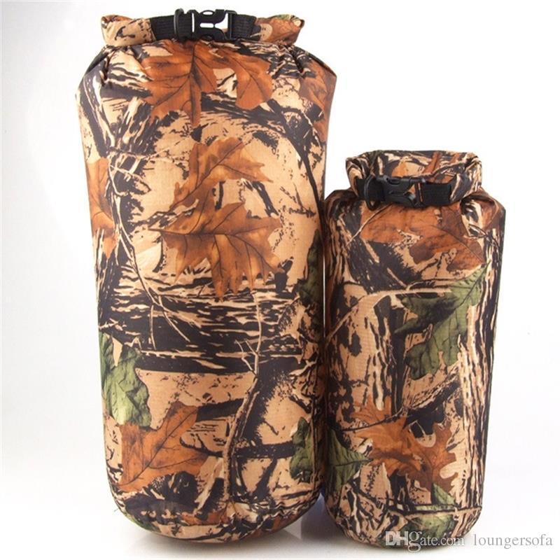 위장 컬러 방수 가방 운반 다기능 저장소 패키지 8L 야외 용이성 가제트 고품질 13jy 엑스