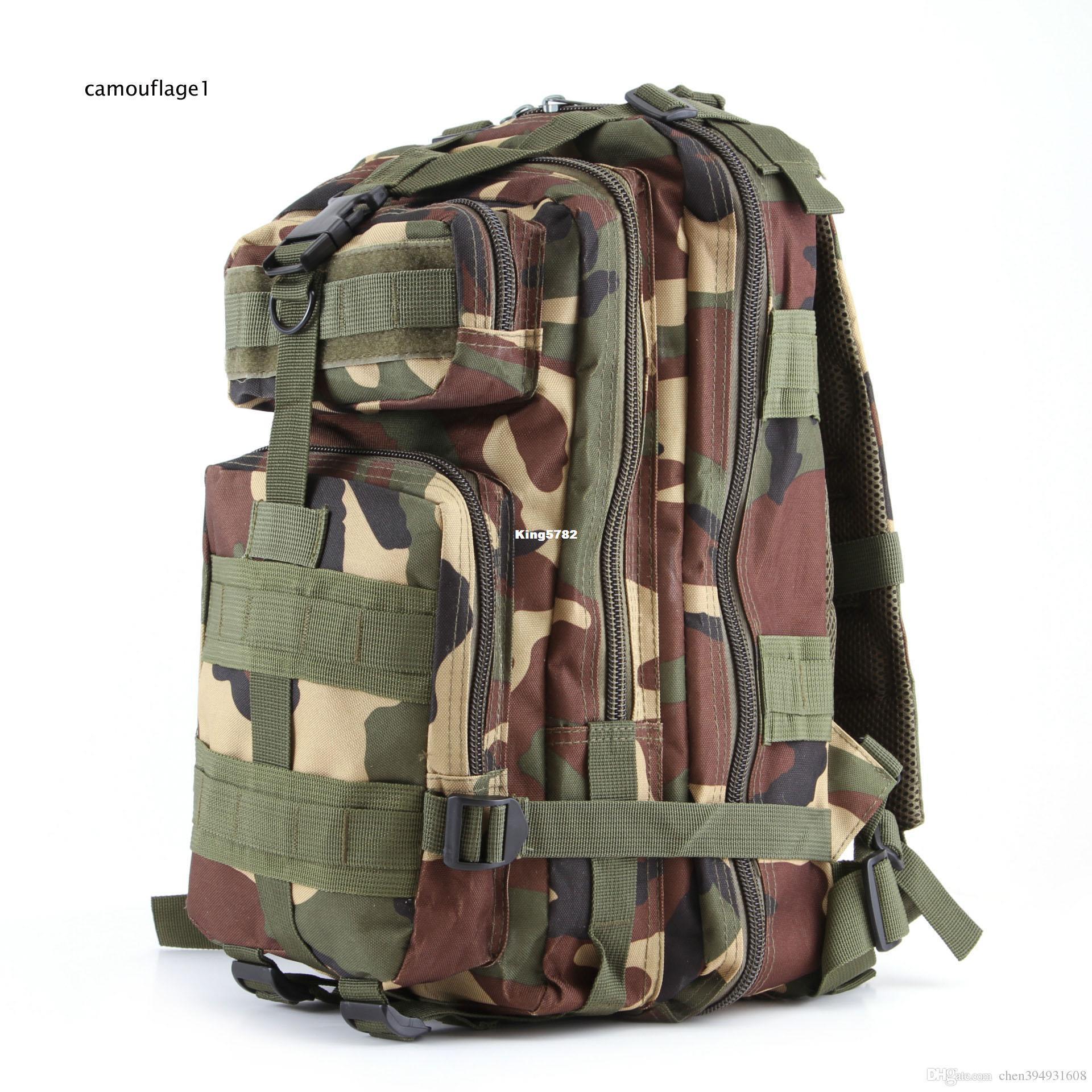 Sporty na zewnątrz Kamuflaż plecaki wspinaczkowe pakiet na plecaku
