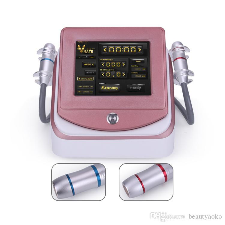 Nuovo arrivo 2 in 1 3.0mm4.5mm ad alta intensità messa a fuoco ad ultrasuoni Face Lift Hifu macchina per la pelle che stringe la rimozione della grinza