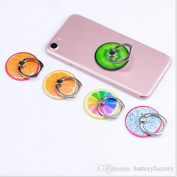 Uchwyt na telefon 360 Stopni Pierścionek Stop Telefon Metalowy Pierścień do iPhone 7 6 6S 7 Plus Samsung Galaxy S8 Plus Posiadacze karty Mocuje 100 sztuk DHL
