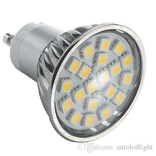 4W GU10 MR16 LED Bulb Spot light SMD5050 20pcs LED cool white or warm white ACAC85-265V 120 Degree Angle
