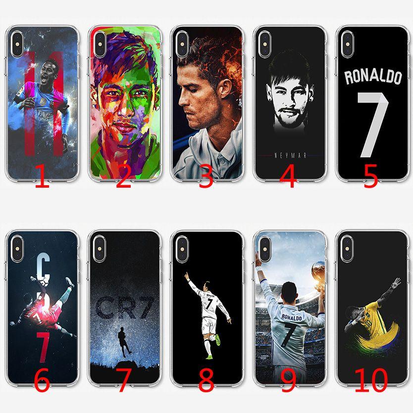 Coque TPU Ronaldy Neymar Pour IPhone X XS Max XR 8 7 Plus 6 6s Plus 5 5s SE Proposé Par Emmall, 1,32 € | Fr.Dhgate.Com