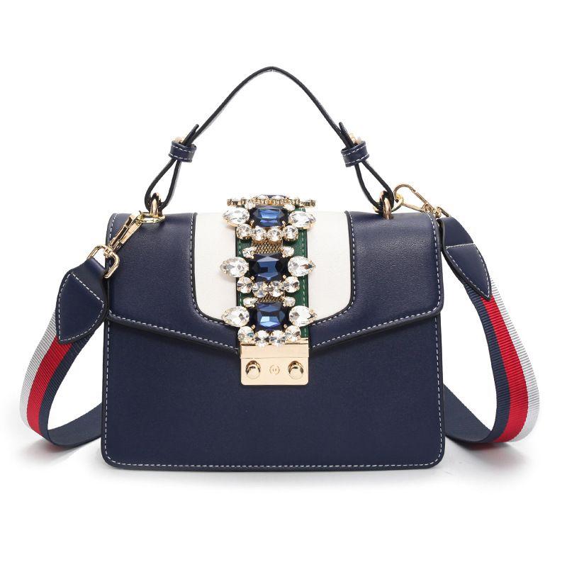 Fashion luxury Flap bags for women ladies small lock crossbody shoulder bags handbag Wholesale cheap 2018