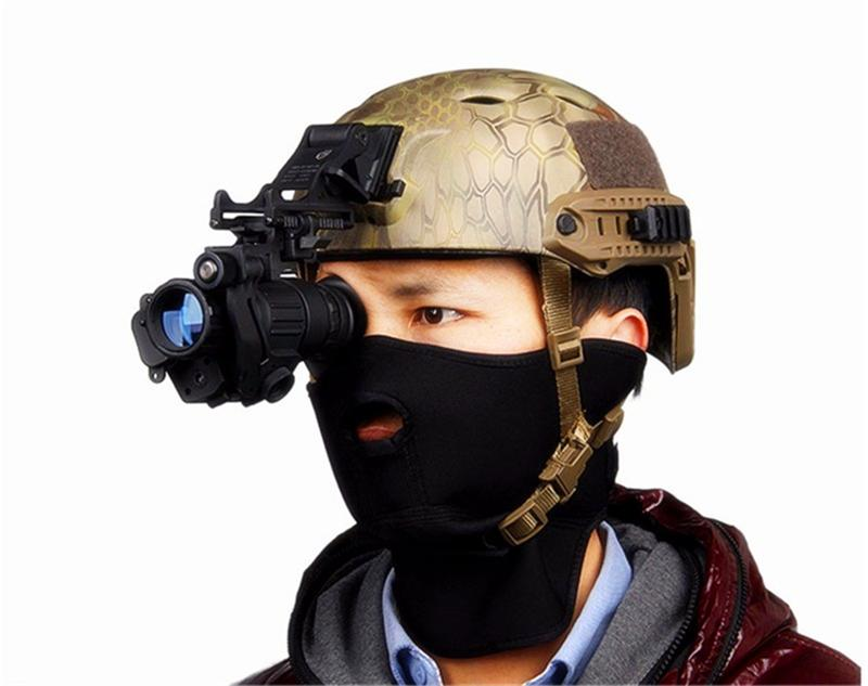 Pvs-14 Tactical Hunting Night-Vision IR Monocular Potente HD Digital infrarrojo Night Vision Device para casco