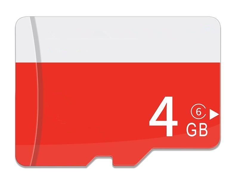 100 % 진짜 4GB microSD 마이크로 SD 메모리 카드 4GB TF 카드 4G 전체 용량 100pcs 전화 카메라